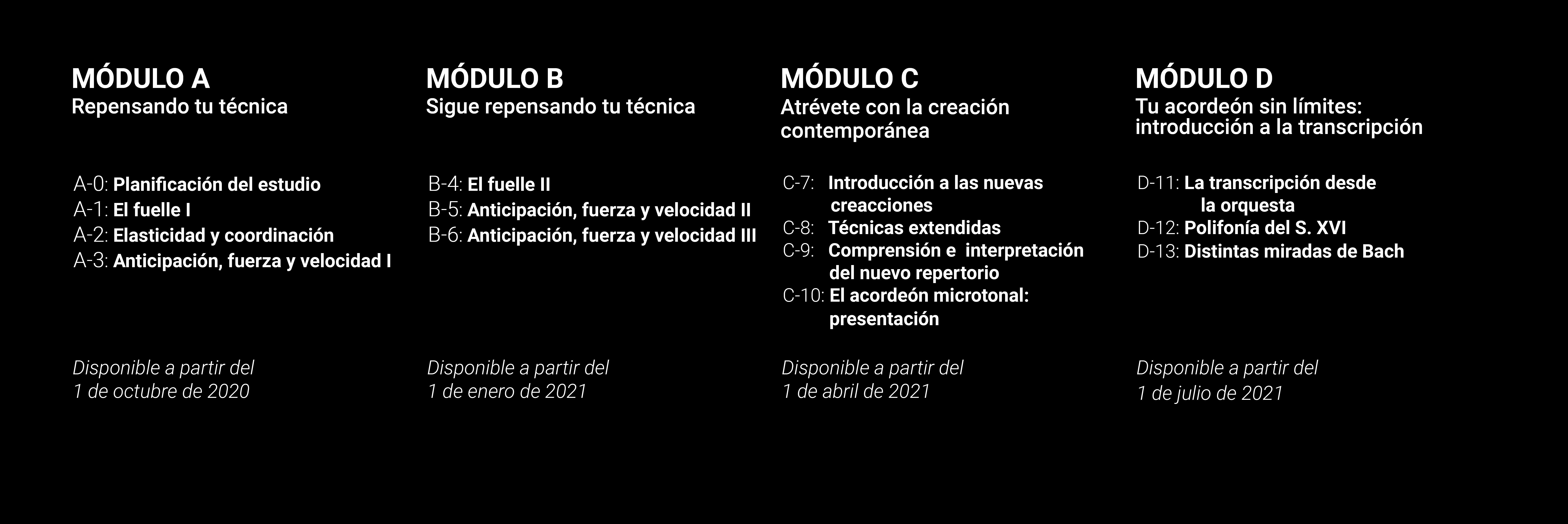 Plan docente 20/21